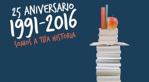 25 Aniversario da Rede de Bibliotecas Municipais da Coruña.