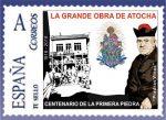 Centenario La Grande Obra de Atocha - Sello