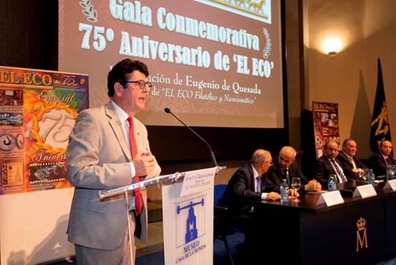 Eugenio de Quesada presentando el acto.