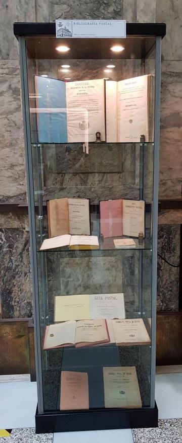 Vitrina Documentos Filatélicos 1