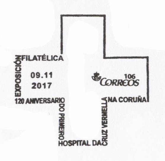 Matasellos 2017 expo Cruz Roja