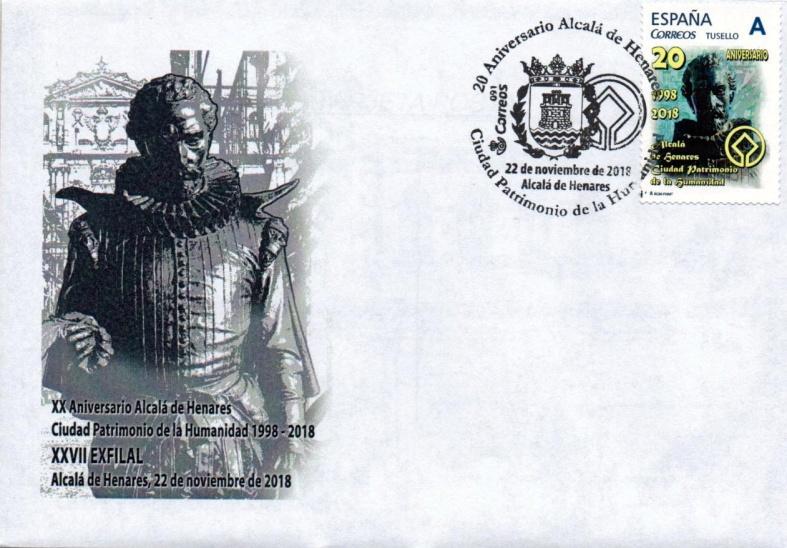 XXVII EXFILAL 20 Aniversario Alcalá de Henares