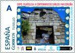Sello Conmemorativo de la Exposición V Centenario de Carlos I na Coruña
