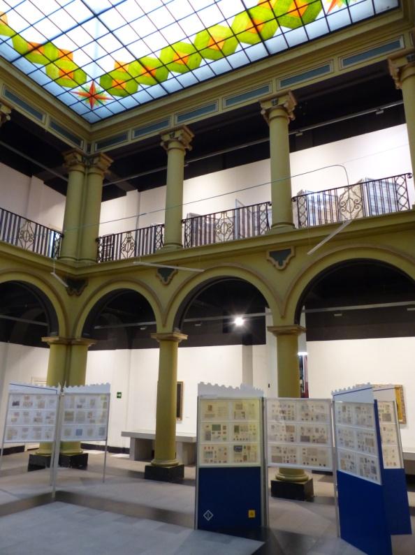 Aspecto de la Sala de Exposición