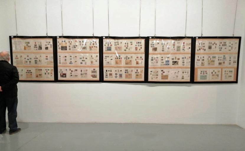 """La colección """"Las Telecomunicaciones"""", expuesta en Eibar."""