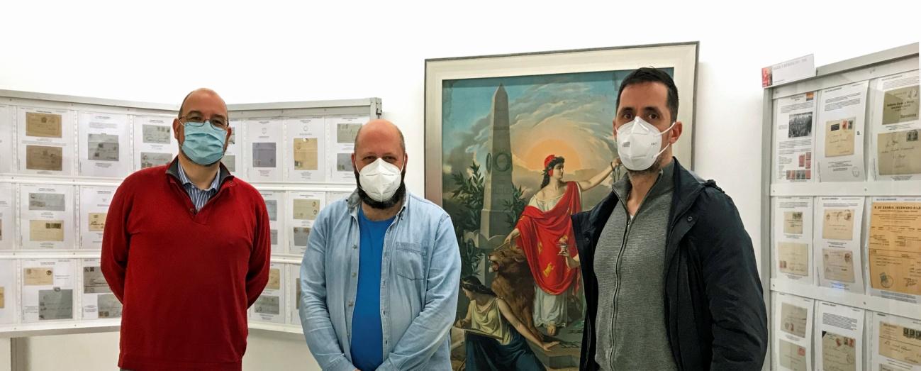 De izquierda a derecha: Luis Latorre Real (Presidente SFL), José Luis Rey Barreiro (Presidente SFAC) y Marcos Iglesias Álvarez (Tesorero SFL).
