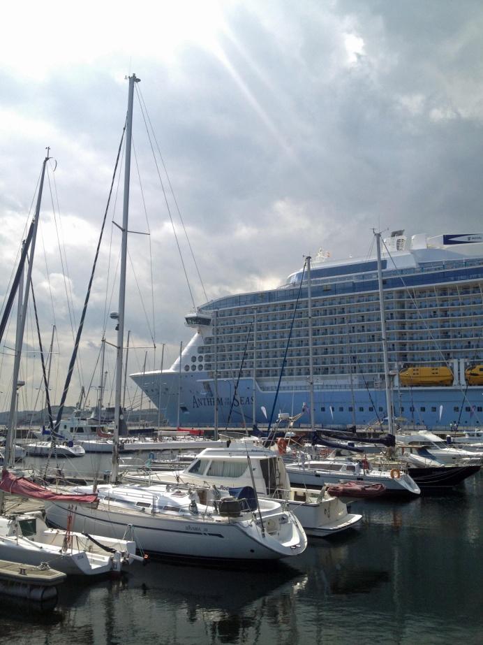 Crucero en el Puerto de A Coruña