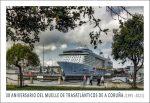 Tarjeta Puerto A Coruña - Anverso